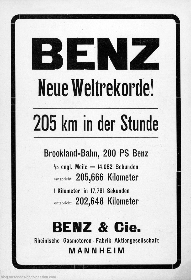 [Historique] La Blitzen-Benz 200HP 1909 73673110