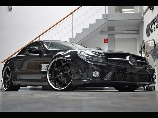 [Photos] Galerie : La Mercedes SL R230 77061010