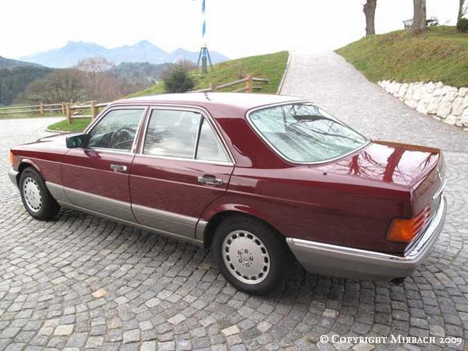 La Mercedes 300 SE (W126)  7_67521