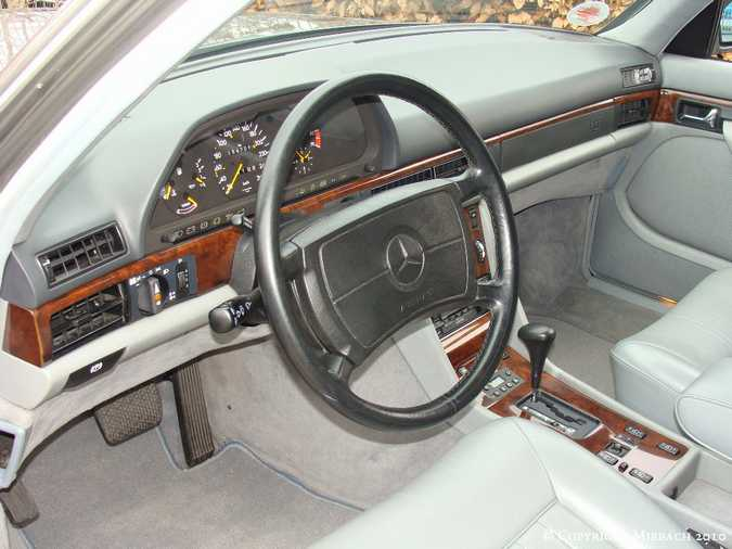 Les Mercedes 500/560 SE/SEL (W126)  7_67522