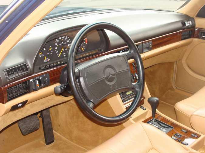 Les Mercedes 500/560 SE/SEL (W126)  7_67523
