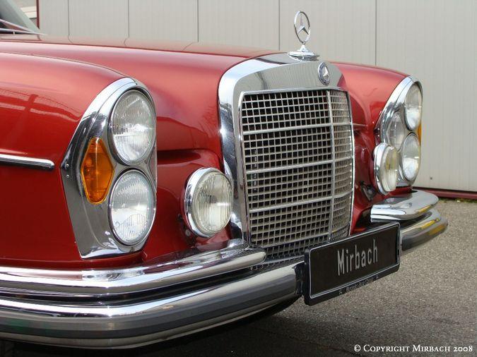 La Mercedes 250 S-SE / 280 S-SE / 300 SE (W108/W109) Berline   7_67531