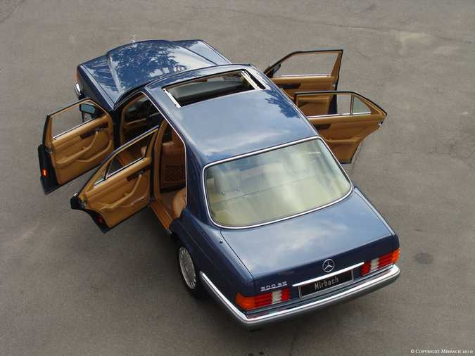 Les Mercedes 500/560 SE/SEL (W126)  8_67520
