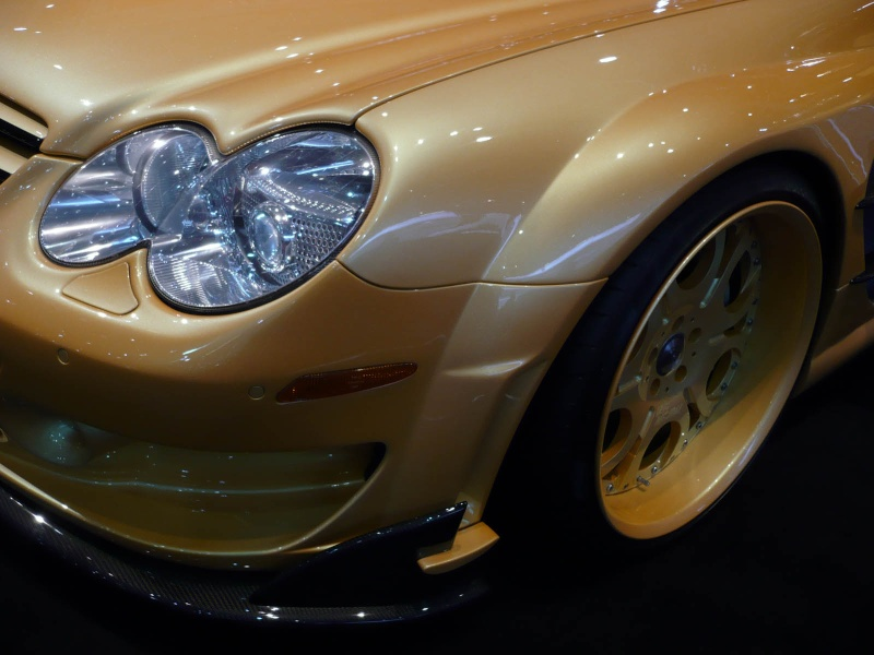 [Photos] Galerie : La Mercedes SL R230 99435710