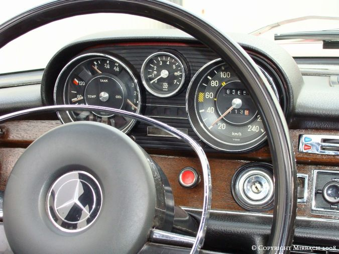 La Mercedes 250 S-SE / 280 S-SE / 300 SE (W108/W109) Berline   9_67531
