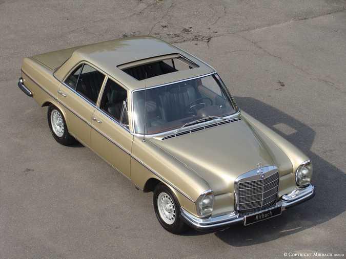 La Mercedes 250 S-SE / 280 S-SE / 300 SE (W108/W109) Berline   9_67532