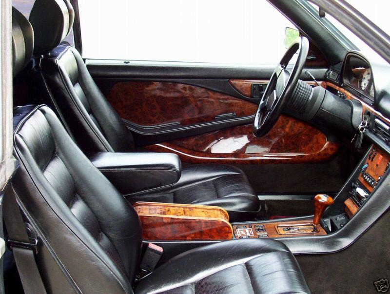 Les interieurs de W126 1980 - 1992 9c_310