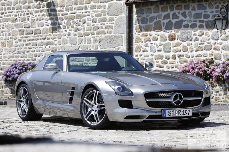 [Photos] Galerie : La Mercedes SLS B1e56810