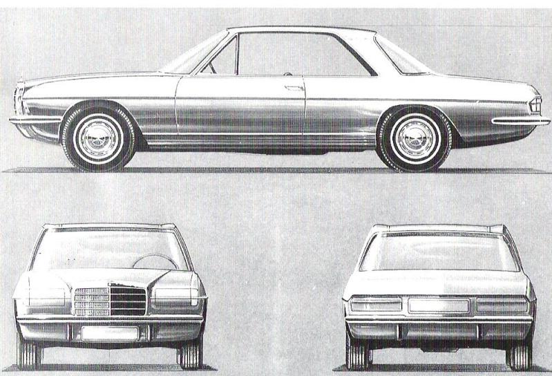 [Designer] Paul Bracq chez Mercedes-Benz  B52e4a11