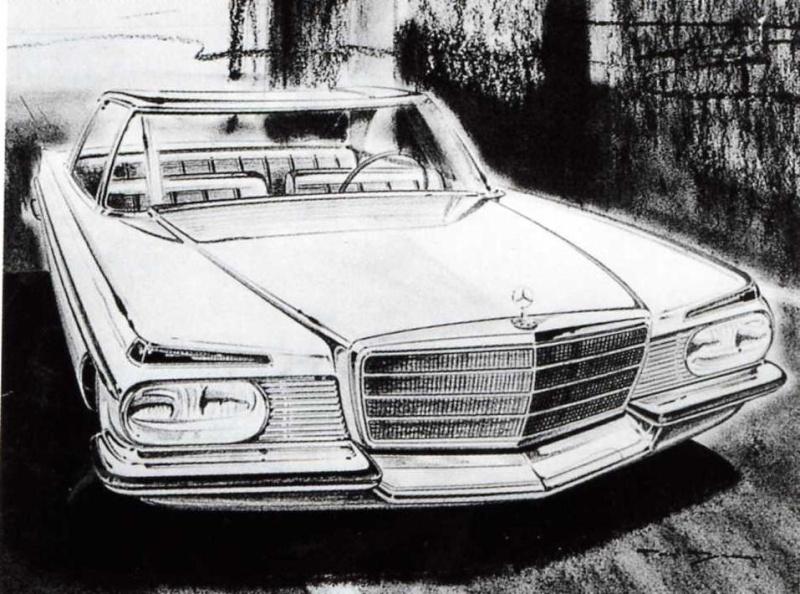 [Designer] Paul Bracq chez Mercedes-Benz  B8b7ab11