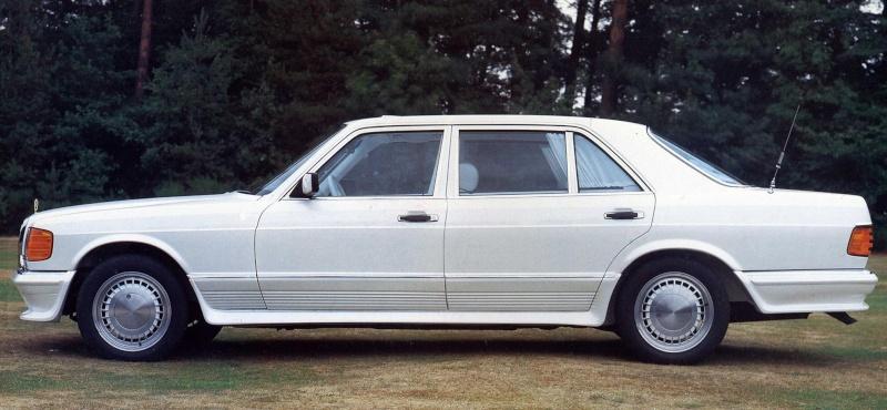 La Mercedes 560 Duchatelet Bc702810
