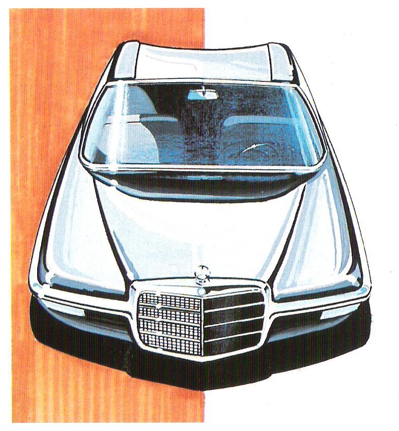 [Designer] Paul Bracq chez Mercedes-Benz  C17e6512