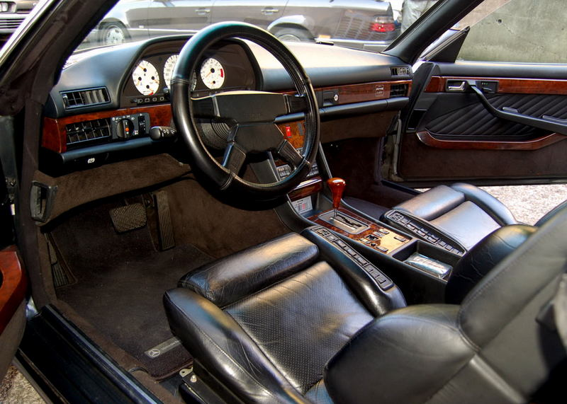 Les interieurs de W126 1980 - 1992 C67a5310