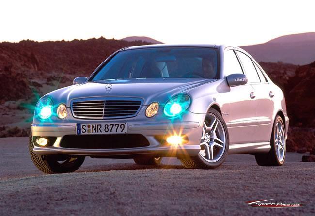 [Essai] La Mercedes E 55 AMG (W211) E-55-a10