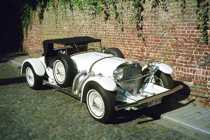 Mercedes SSK 1929. Interprétation très libre... Ex0310