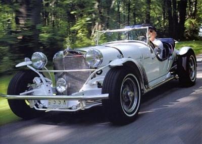 Mercedes SSK 1929. Interprétation très libre... Excali10