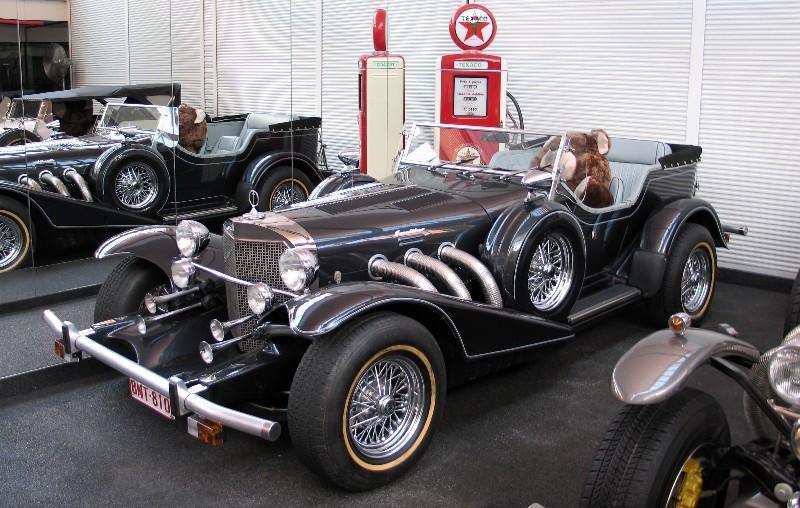 Mercedes SSK 1929. Interprétation très libre... Excali11