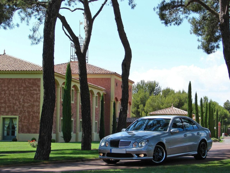 [Essai] La Mercedes E 55 AMG (W211) Expoph10