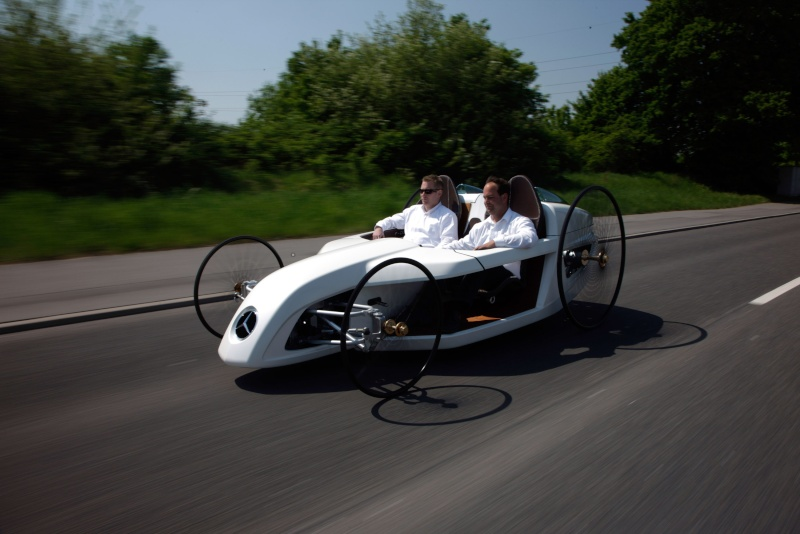 Bertha Ringer Benz F-cell10