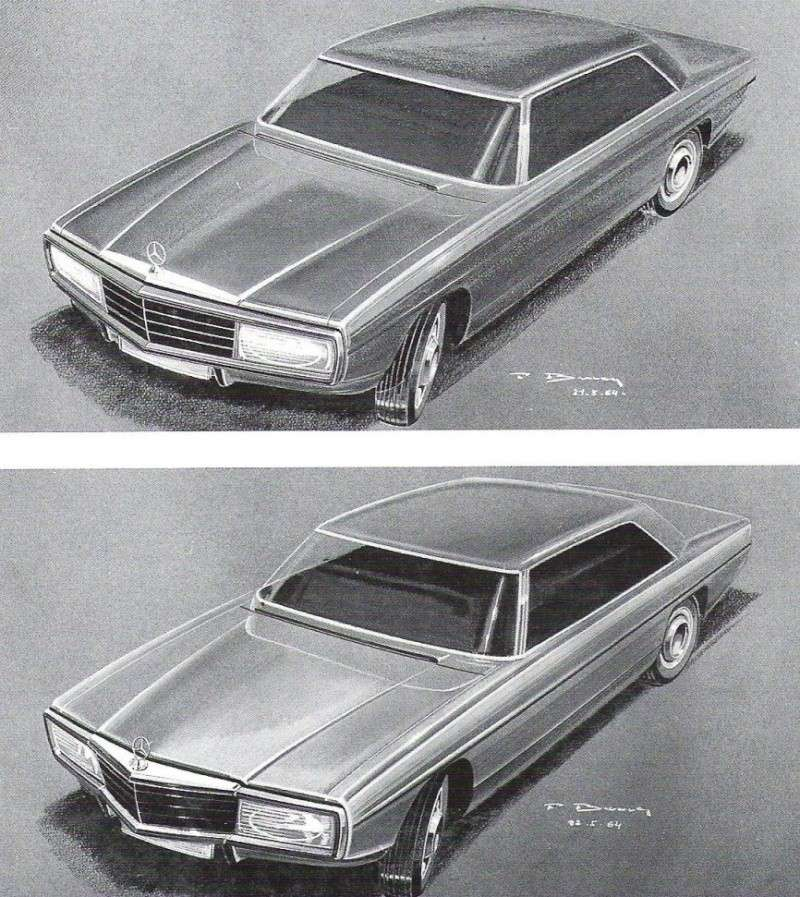 [Designer] Paul Bracq chez Mercedes-Benz  F88ed911