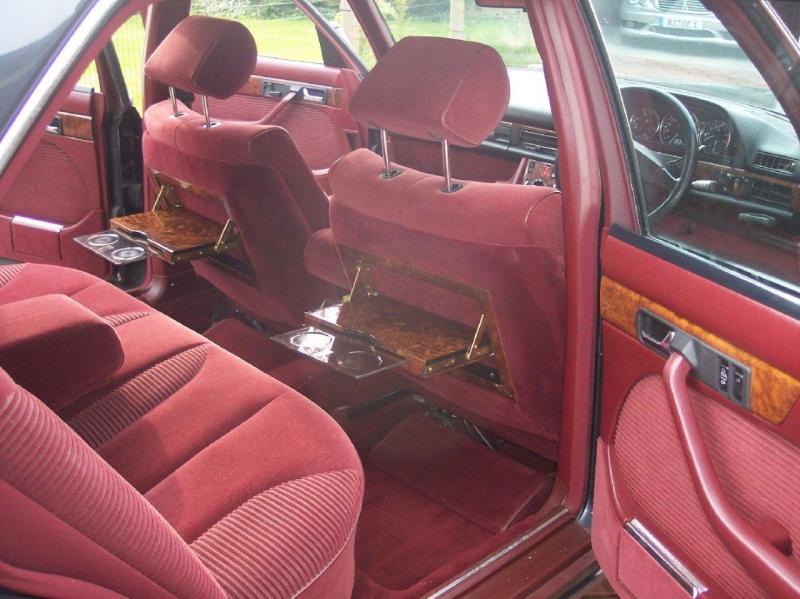 Les interieurs de W126 1980 - 1992 Image135