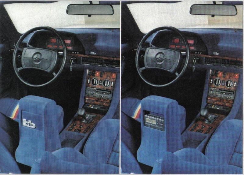 Les interieurs de W126 1980 - 1992 Image138
