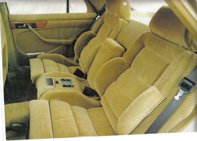 Les interieurs de W126 1980 - 1992 Image140