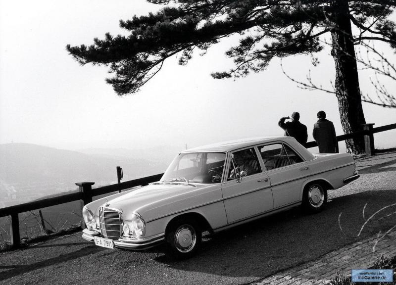 La Mercedes 250 S-SE / 280 S-SE / 300 SE (W108/W109) Berline   Mbgale14