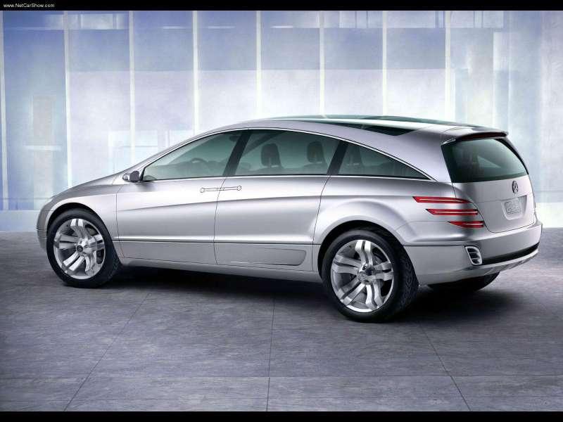 La Mercedes Vision GST Concept (2002) Merc1447