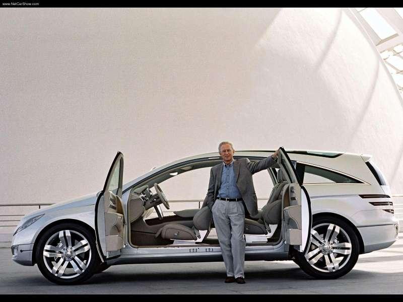 La Mercedes Vision GST Concept (2002) Merc1448