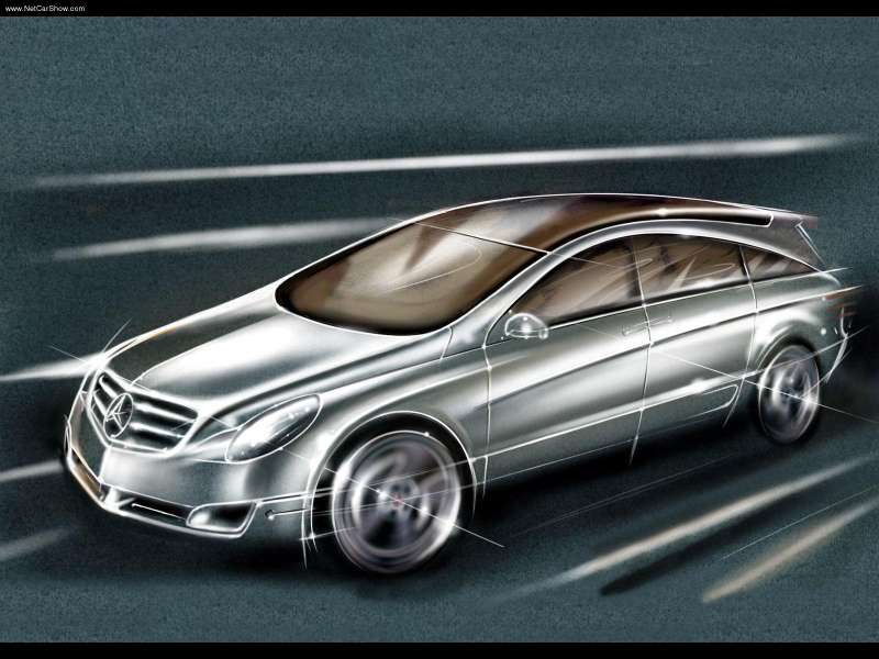 La Mercedes Vision GST Concept (2002) Merc1455