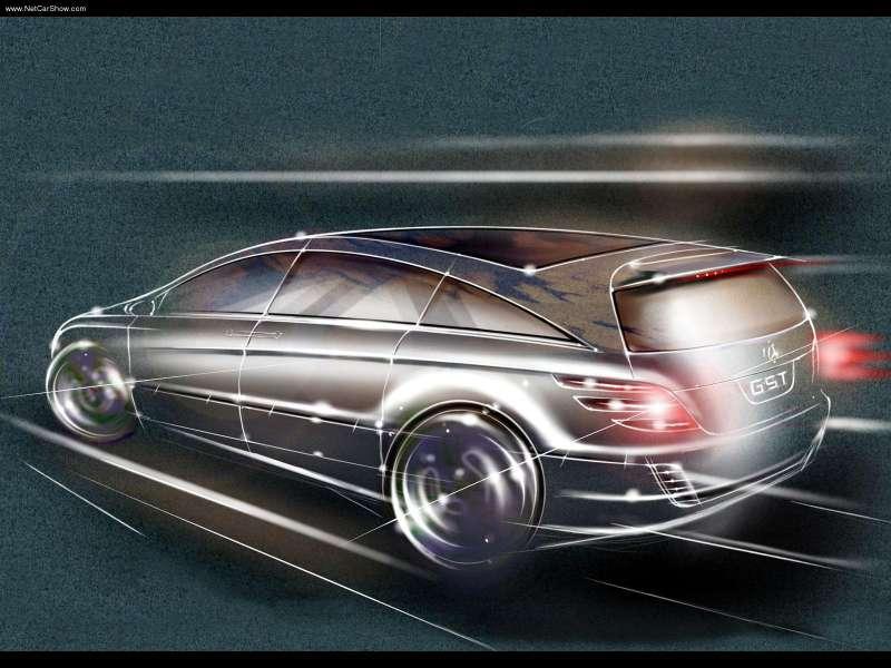 La Mercedes Vision GST Concept (2002) Merc1456