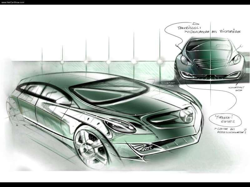 La Mercedes Vision GST Concept (2002) Merc1457