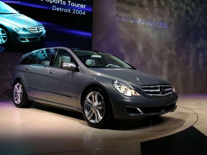 La Mercedes Vision GST Concept (2002) Merc1504