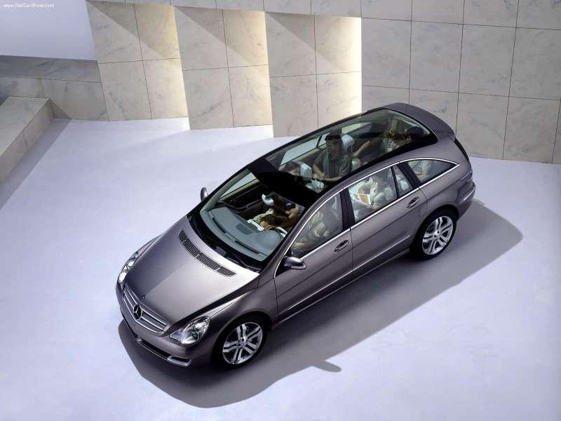 La Mercedes Vision GST Concept (2002) Merc1509
