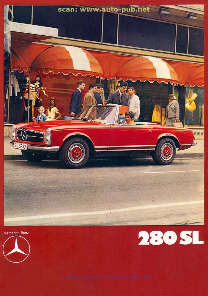 """La """"Pagode"""" 280 SL (W113 1967-1971)  Merc1730"""