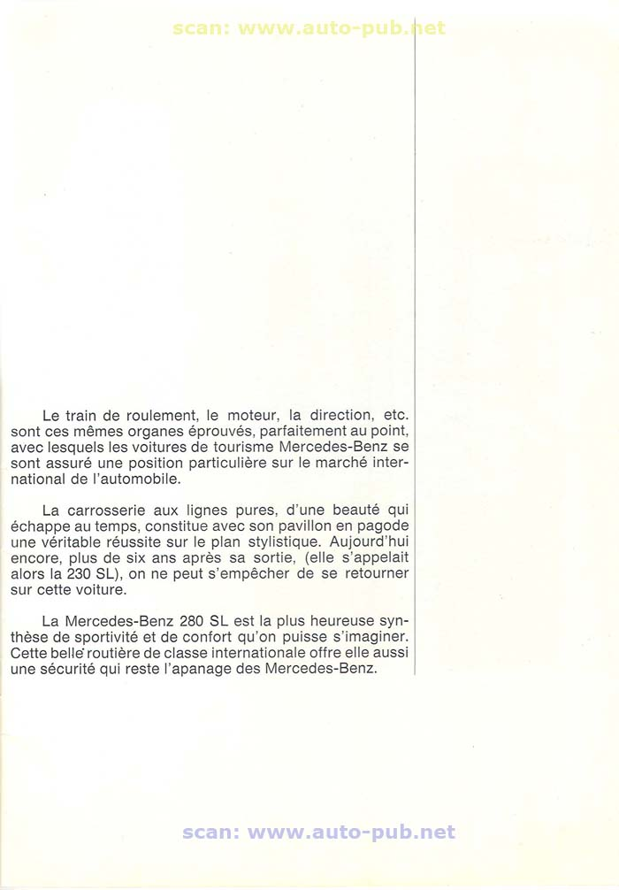 """La """"Pagode"""" 280 SL (W113 1967-1971)  Merc1732"""