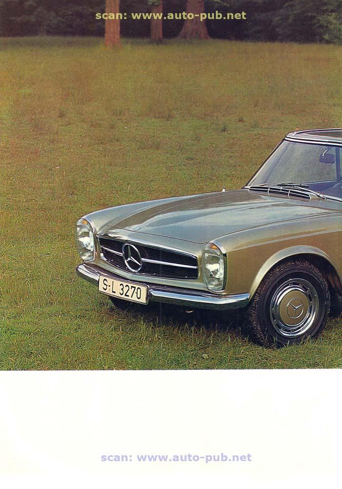 """La """"Pagode"""" 280 SL (W113 1967-1971)  Merc1733"""