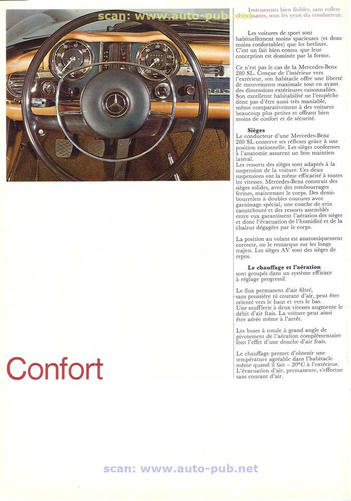 """La """"Pagode"""" 280 SL (W113 1967-1971)  Merc1735"""