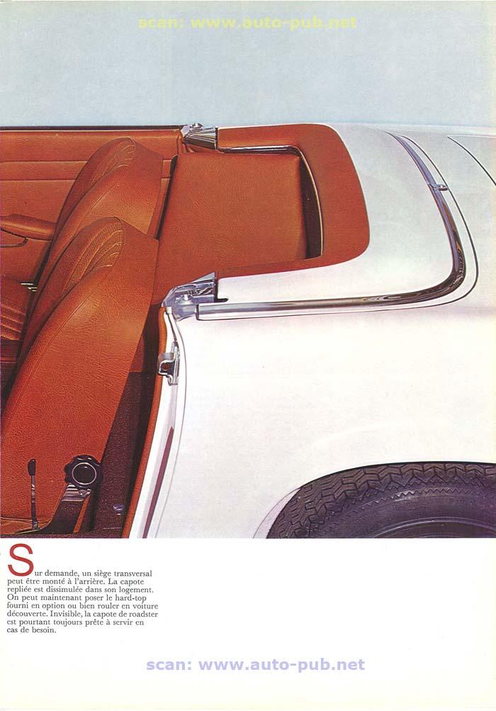 """La """"Pagode"""" 280 SL (W113 1967-1971)  Merc1738"""