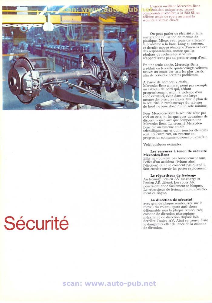 """La """"Pagode"""" 280 SL (W113 1967-1971)  Merc1739"""