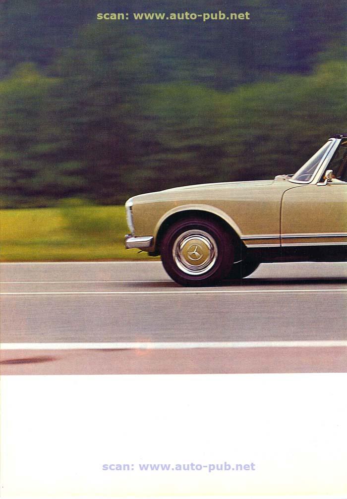 """La """"Pagode"""" 280 SL (W113 1967-1971)  Merc1741"""