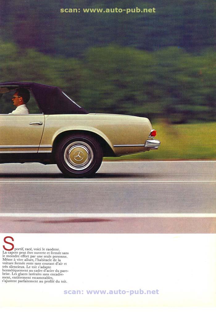 """La """"Pagode"""" 280 SL (W113 1967-1971)  Merc1742"""