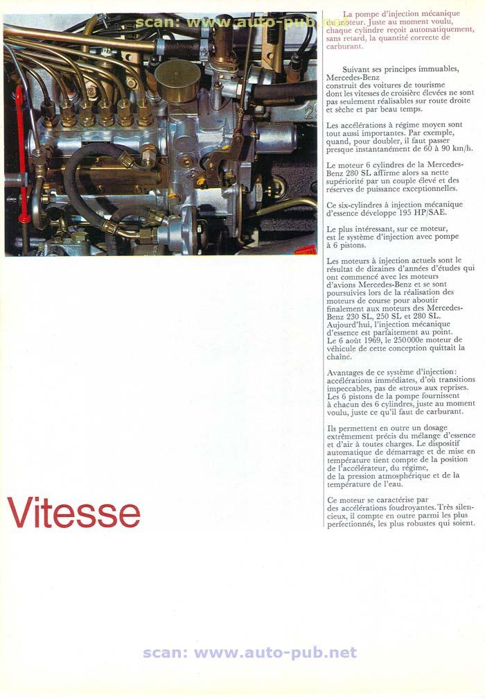 """La """"Pagode"""" 280 SL (W113 1967-1971)  Merc1743"""
