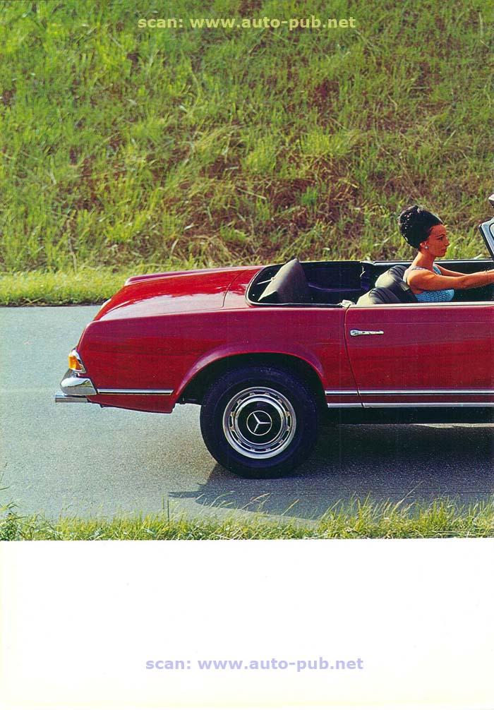 """La """"Pagode"""" 280 SL (W113 1967-1971)  Merc1745"""