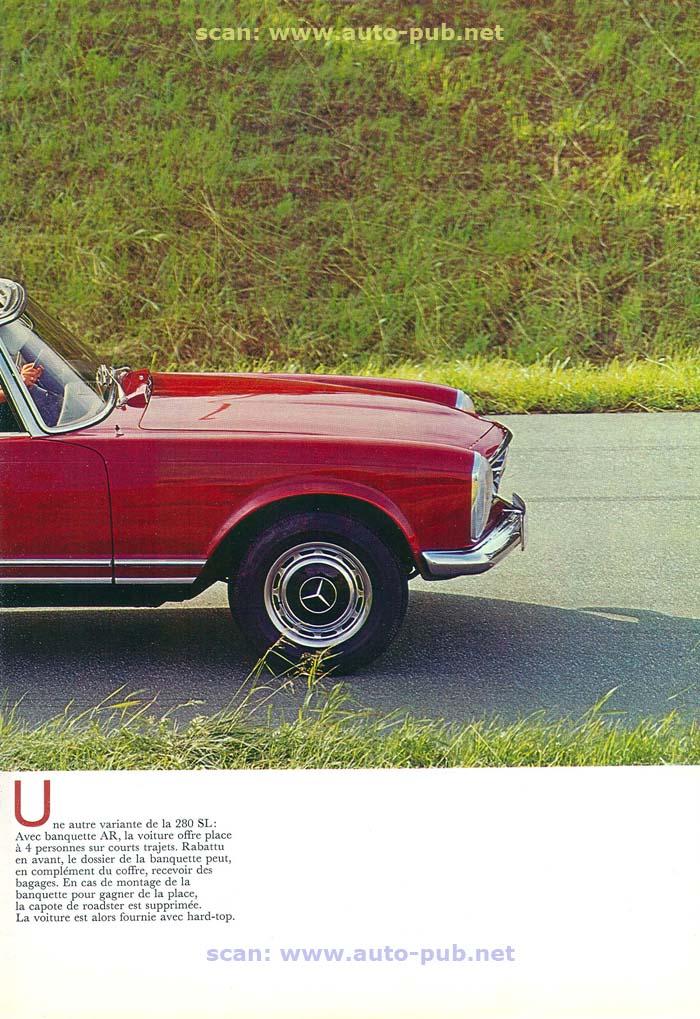 """La """"Pagode"""" 280 SL (W113 1967-1971)  Merc1746"""