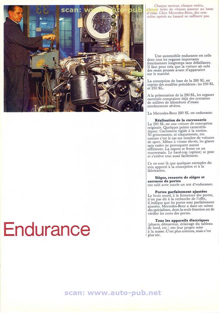 """La """"Pagode"""" 280 SL (W113 1967-1971)  Merc1747"""