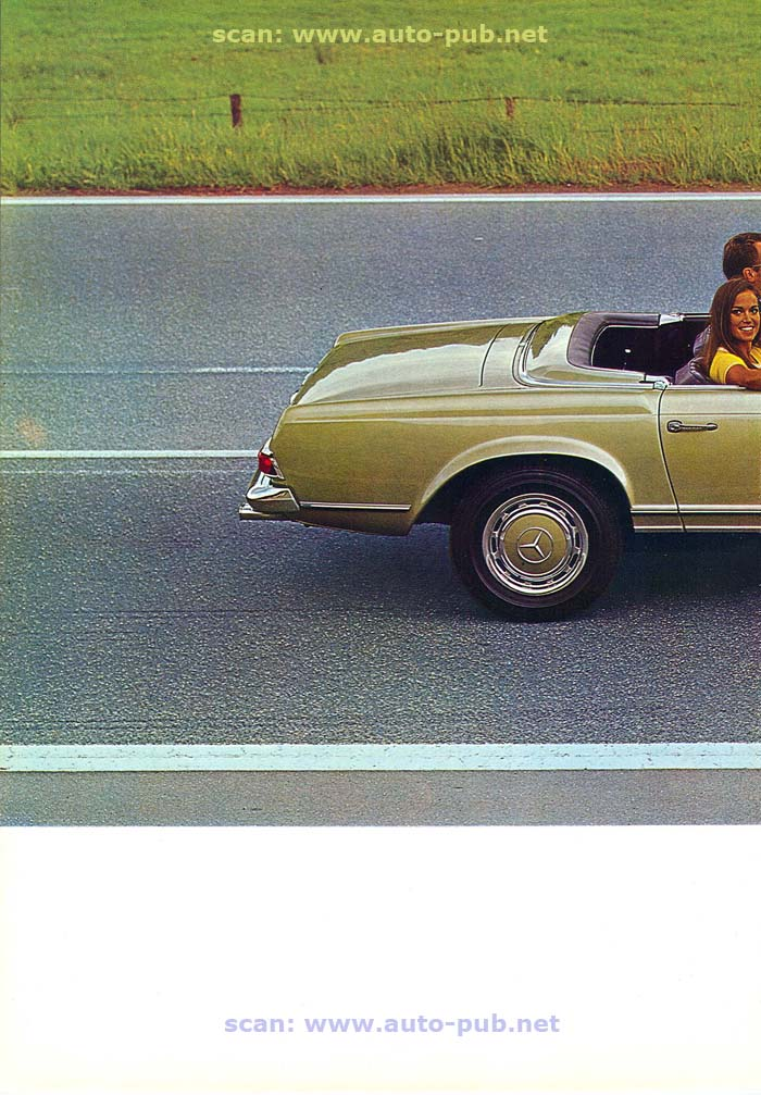 """La """"Pagode"""" 280 SL (W113 1967-1971)  Merc1749"""