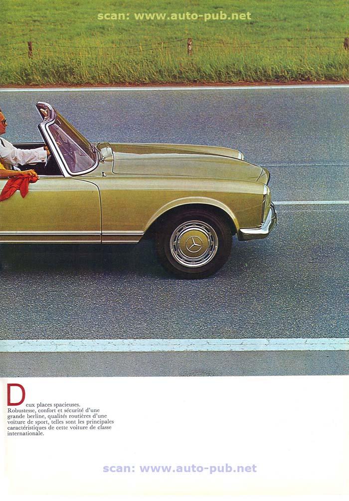 """La """"Pagode"""" 280 SL (W113 1967-1971)  Merc1750"""