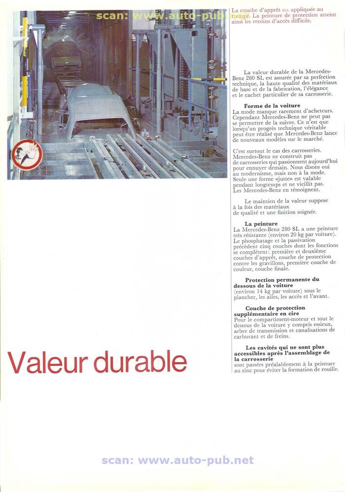 """La """"Pagode"""" 280 SL (W113 1967-1971)  Merc1751"""